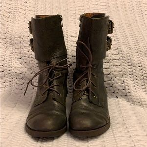 Lucky Brand Combat Style Boots